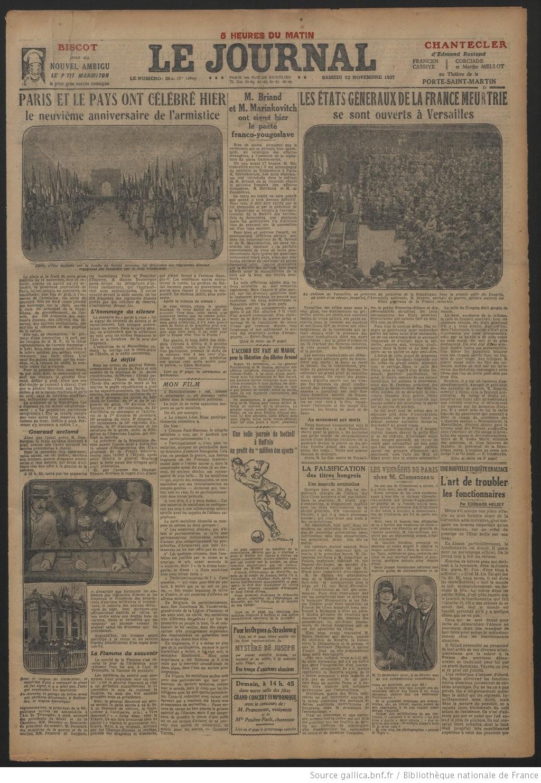 Le Journal   1927-11-12   Gallica