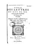 Illustration de la page Henri Condé Ier de Bourbon (prince de, 1552-1588) provenant de Wikipedia