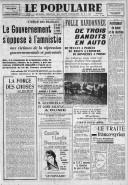 Le traité franco-syrien  P. Viénot. Le Populaire / SFIO. 12/01/1939
