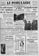 Le traité franco-syrien  P. Viénot. Le Populaire / SFIO. 13/01/1939