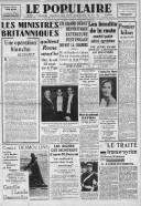 Le traité franco-syrien  P. Viénot. Le Populaire / SFIO. 14/01/1939