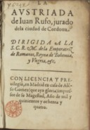 Illustration de la page Juan Rufo (1547 ?-1620) provenant de Wikipedia