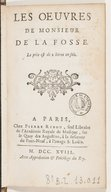 Image from Gallica about Antoine de La Fosse (1653-1708)