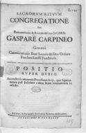 Image from Gallica about Eglise catholique. Sacra rituum congregatio