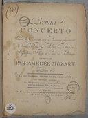 Illustration de la page Concertos. Piano, orchestre. Ré majeur. KV 175 provenant de Wikipedia