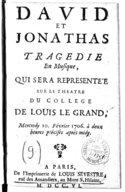 Illustration de la page David et Jonathas provenant de Wikipedia