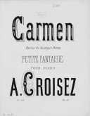 Illustration de la page Arrangements. Piano. Carmen. Bizet, Georges provenant de Wikipedia