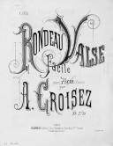 Illustration de la page Rondeau-valse. Piano (6 mains) provenant de Wikipedia