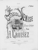 Illustration de la page Le carnaval de Venise. Piano (4 mains). Op. 55 bis provenant de Wikipedia