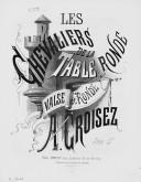 Illustration de la page Arrangements. Valse et Ronde. Piano. Les chevaliers de la Table ronde. Hervé provenant de Wikipedia