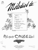 Illustration de la page C. Crescenzi (parolier, 18..-19..) provenant de Wikipedia