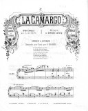 Illustration de la page La Camargo. No 2. Romance de Saturnin : Transcription. Piano provenant de Wikipedia
