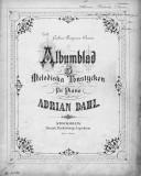 Illustration de la page Albumblad. Piano provenant de Wikipedia