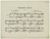 Illustration de la page Yorktown march. Piano provenant de Wikipedia