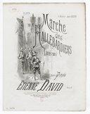 Illustration de la page Marche des hallebardiers. Piano provenant de Wikipedia