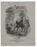 Illustration de la page Les amazones. Piano (4 mains) provenant de Wikipedia