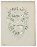 Illustration de la page Babillage. Piano provenant de Wikipedia