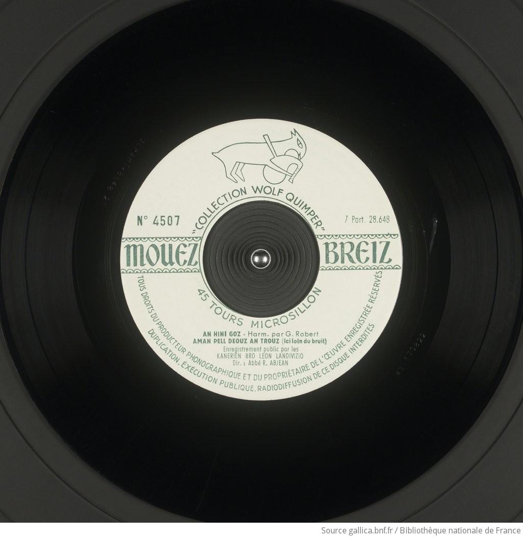 Chants dans la nuit / les Kanerien bro Léon Landivizio, choeur ; Abbé R. Abjean, chef de choeur | Abjean Roger