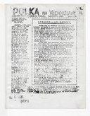 Polka na Wychodźstwie : Pismo Kół Kobiet Polskich we Francji. 1943-1944