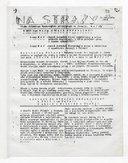 Na Straży : Pismo polskiego Wychodźstwa pracujacego we Francji. 1942-1944