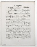 Image from Gallica about Concertos. Piano, orchestre. Mi bémol majeur. C 238