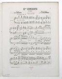 Illustration de la page Concertos. Piano, orchestre. Mi bémol majeur. C 238 provenant du document numerisé de Gallica