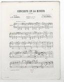 Illustration de la page Concertos. Piano, orchestre. La mineur. Op. 85 provenant de Wikipedia