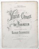 Illustration de la page Valse-caprice. Piano. Mi bémol majeur provenant de Wikipedia