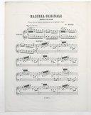 Illustration de la page Mazurka originale. Piano. La mineur provenant de Wikipedia