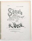 Illustration de la page Sonate. Piano. Fa majeur. Op. 55 provenant de Wikipedia