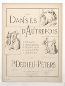 Image from Gallica about Danses d'autrefois. Piano. Op. 57