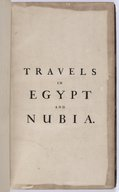 Travels in Egypt and Nubia F. Norden. 1757