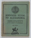 Services Guide to Alexandria. 3rd Edition1943
