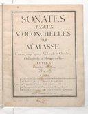 Illustration de la page 6 sonates. Violoncelles (2). Op. 5 provenant de Wikipedia
