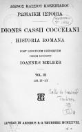 Illustration de la page Dion Cassius (0155?-0235?) provenant du document numerisé de Gallica