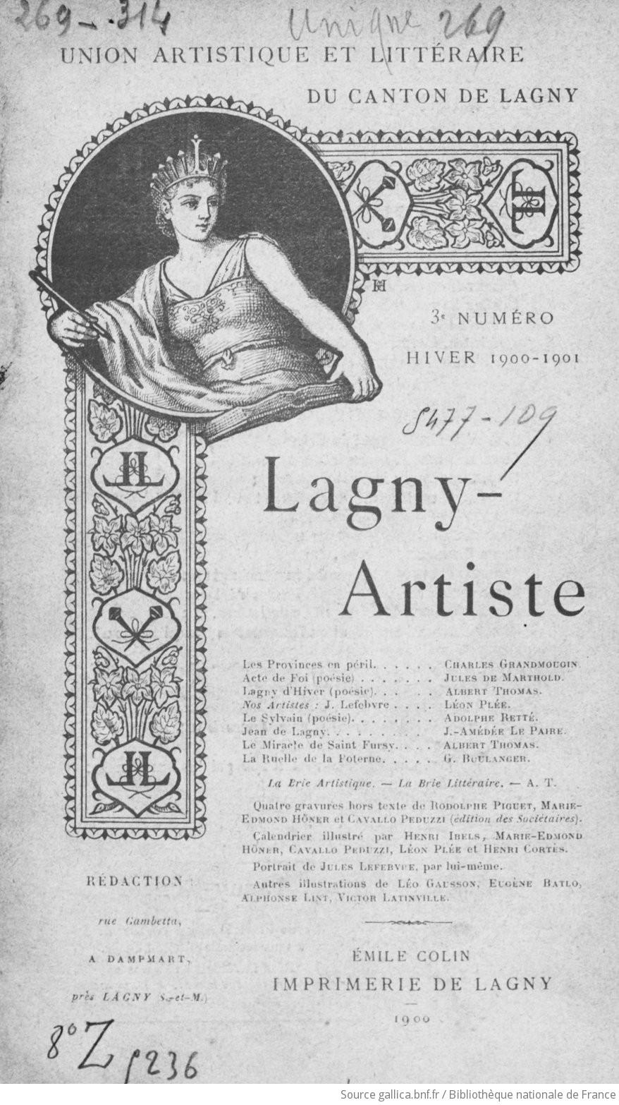 Lagny-artiste