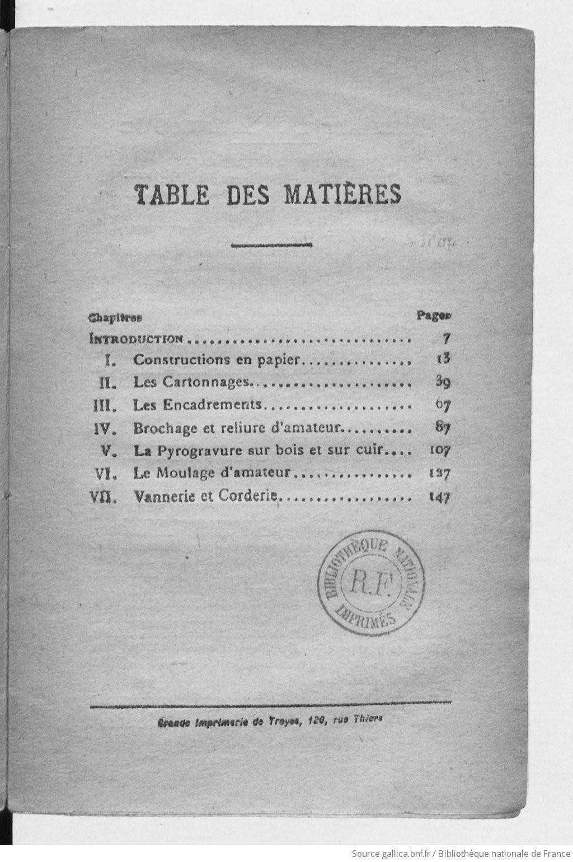[PDF] Ouvrages anciens :Manuels de travaux d'amateurs  F183