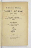 Illustration de la page Pierre Ronzy (1883-1976) provenant de Wikipedia