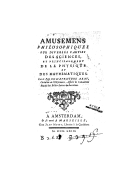 Bildung aus Gallica über Physique -- Philosophie