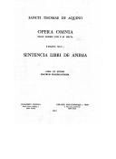 Illustration de la page In libros De anima provenant de Wikipedia