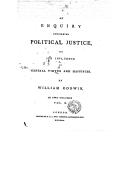 Illustration de la page Enquiry concerning political justice provenant de Wikipedia