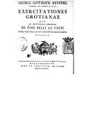 Illustration de la page Georg Gottfried Keuffel (1698-1771) provenant de Wikipedia