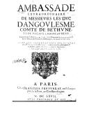 Illustration de la page Henri de Béthune (1604-1680) provenant de Wikipedia