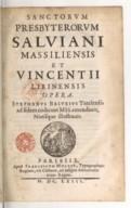 Illustration de la page Vincent de Lérins (saint, 03..?-044.) provenant de Wikipedia
