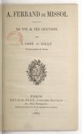 Illustration de la page Amédée Ferrand de Missol (1805-1883) provenant de Wikipedia