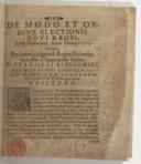 De modo et ordine electionis novi regis, apud Varsaviam, anno Domini 1573 habitae  S. Karnkowski