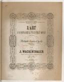 Illustration de la page Joseph Wackenthaler (compositeur, 18..-19..?) provenant de Wikipedia