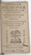 Bildung aus Gallica über Janus Cäcilius Frey (1580-1631)