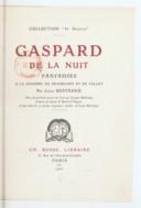 Illustration de la page Gaspard de la nuit provenant de Wikipedia