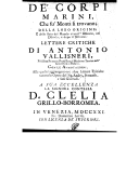 Image from Gallica about Antonio Vallisneri (1661-1730)